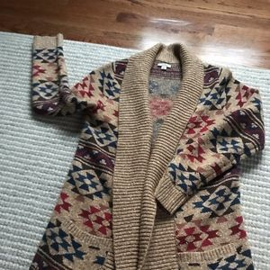 Lucky Western Style Cardigan Sweater